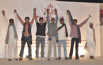KARVADA members in KRV fashion show 2009